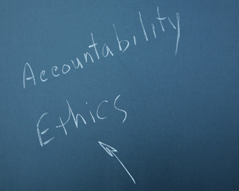 Accountability and ethics